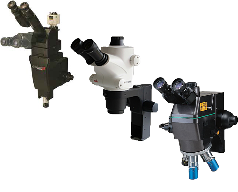 Microscopes / optics for probers