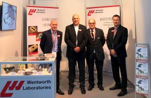 Wentworth Laboratories sales team at Semicon Europa 2018