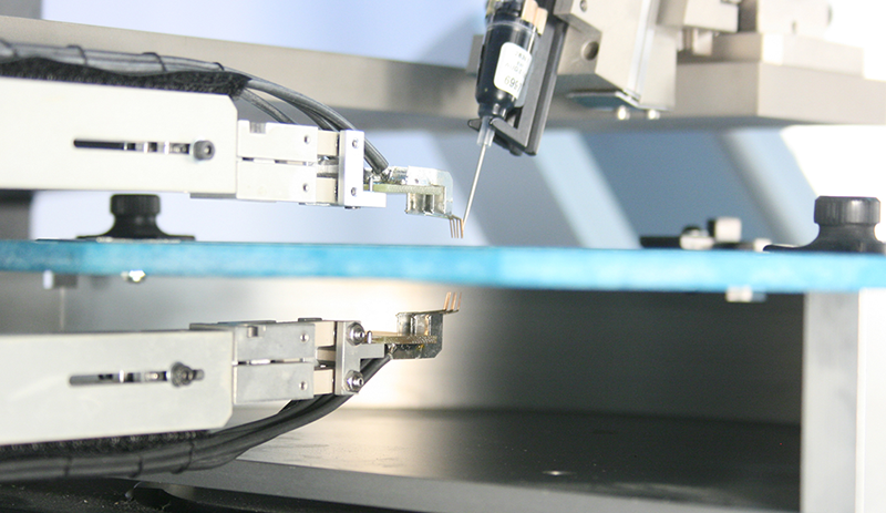 Double-sided wafer prober