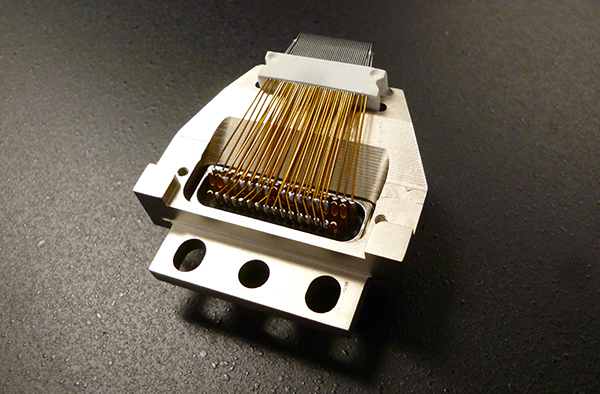 Custom cantilever probe card