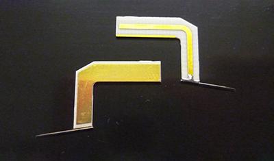stripline ceramic blade probe