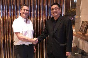 Alan Christie and Lim Hian Ho